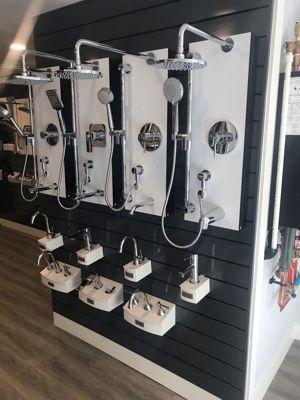 Zegg Plumbing showroom